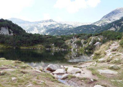 Lago Okoto, subiendo al Lago Ezero