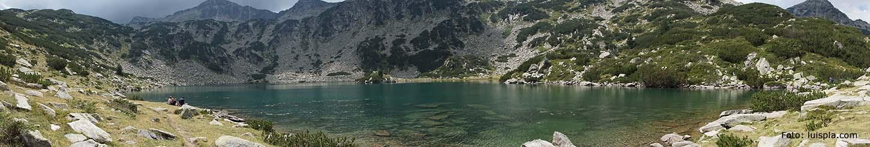 Panorámica del Lago Ezero