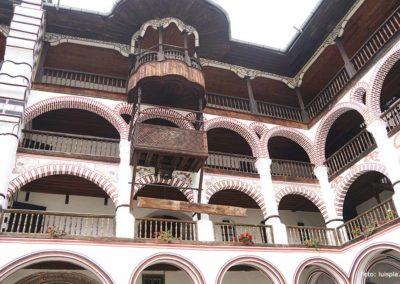 Detalle del Monasterio de Rila