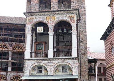 Torre fortificada del Monasterio de Rila
