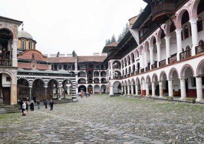 Patio Monasterio de Rila