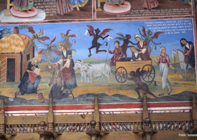 Frescos del Monasterio de Rila