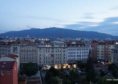 Vista nocturna desde el Hotel