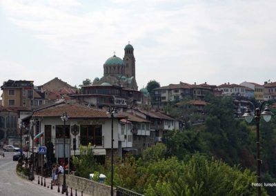 Vista de Veliko Tarnovo