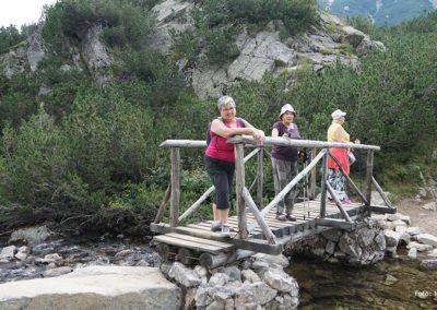 Subiendo al Lago Ezero
